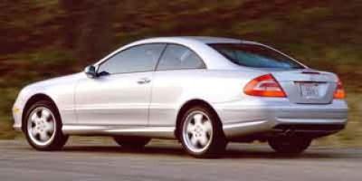 2003 Mercedes-Benz CLK-Class CLK500 (Firemist Red Metallic)