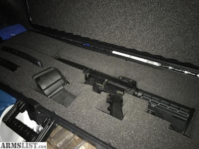 For Sale: S&W AR-15 almost new fired about 200 times