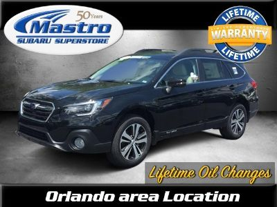 2018 Subaru Outback 2.5i Limited with EyeSight, Na (Crystal Black Silica)