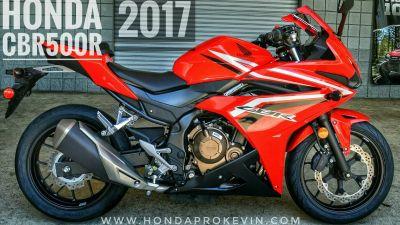 2017 Honda CBR500R Sport Motorcycles Tampa, FL