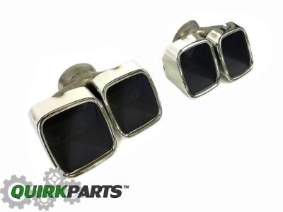 Purchase 2015-2016 DODGE CHALLENGER DUAL SPLIT CHROME QUAD EXHAUST TIPS OEM MOPAR GENUINE motorcycle in Braintree, Massachusetts, United States, for US $259.95