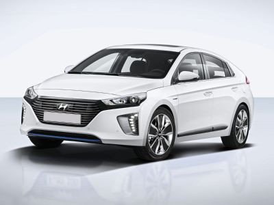 2018 Hyundai IONIQ Hybrid Limited (Summit White)
