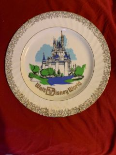Walt Disney world plate
