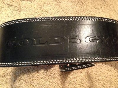 $10, Golds Gym Weight Belt