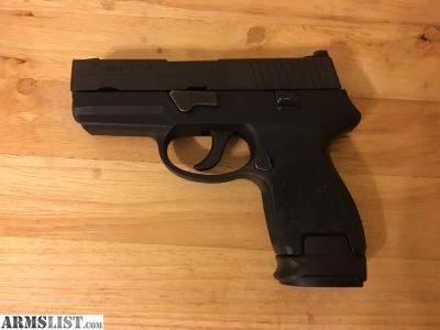 For Sale: Sig p250 subcompact .40