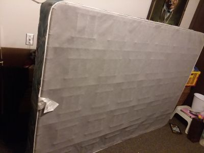 Free queen box spring