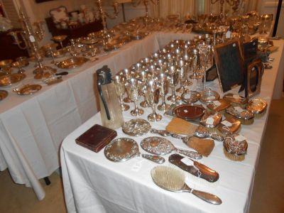 50% OFF EVERYTHING  - Huge Estate Sale - Silver, Crystal, China, Furniture & Home Accessories!