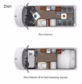 2019 Roadtrek Zion Class B Motorhome