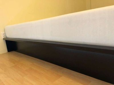 Full Platform Bed (Mattress also available)