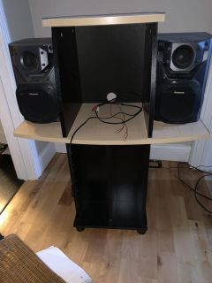 Stereo stand