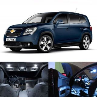Buy LED White Lights Interior License Package Kit For Chevrolet Orlando motorcycle in San Diego, California, United States, for US $19.99