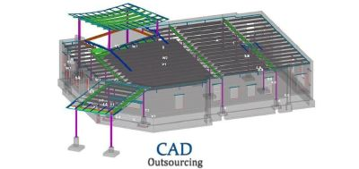 Pre Cast panel detailing Services USA - CAD Outsourcing