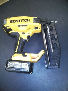 Bostitch 16 gauge finish gun 20 volt