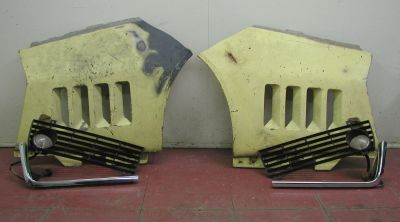 Front Fender Parts, Turn Signals, Grilles, Chrome Moldings