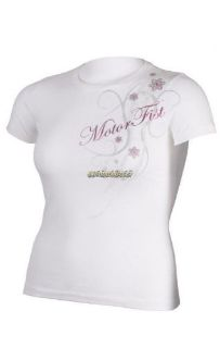Find MotorFist Women's Snowflake Tee - White motorcycle in Sauk Centre, Minnesota, United States, for US $19.99