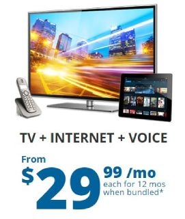 Spectrum TV™, Internet and Voice Service