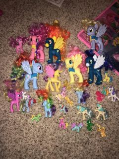 Assorted My Little Ponies