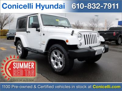 2014 Jeep Wrangler Sahara (Bright White Clearcoat)