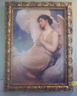 Winged Figure 1889 by Abbott Handerson Thayer W Two other Prints