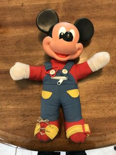 Mickey learning toy(not sure how to clean bottom)