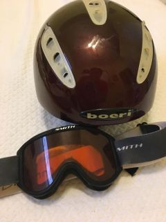 Youth Snow Ski Helmet and Goggles