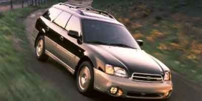 2001 Subaru Outback Base (Timberline Green Pearl/Titanium Pearl)