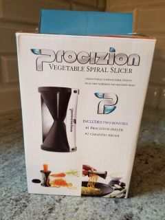 NEW Procizion Vegetable Spiral Slicer