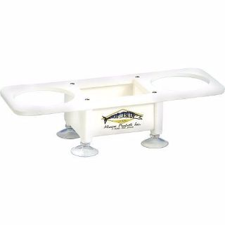Buy Deep Blue Marine Double Drink Holder w/ Center Storage Boat Yacht, Pontoon, Pool motorcycle in Boynton Beach, Florida, United States, for US $45.00