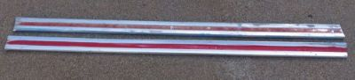 Sell 63 64 1963 1964 Ford truck F100 f250 unibody custom cab door molding pair motorcycle in Orangevale, California, United States, for US $90.00