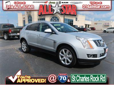 2014 Cadillac SRX Premium Collection (radiant silver metallic)