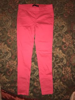 Coral stretch pants