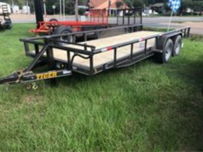 NEW 20ft HD Pipe Top Trailer