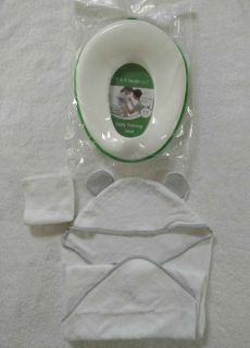 Potty Training Seat and Hooded Towel