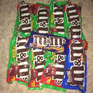 9 packs of m&ms