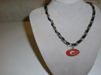 Ga bulldog necklace