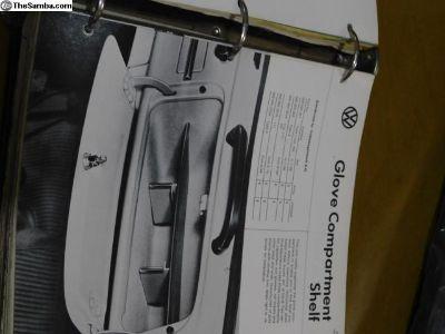 NOS Glove Compartment Shelf Glove Box Shelf
