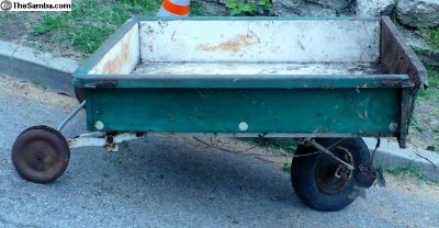 Allstate single wheel trailer