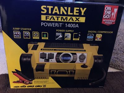 NIB Stanley Fatmax Professional Digital Power Station 1400A