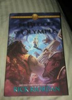 The Blood of Olympus Brand New Hard Back book