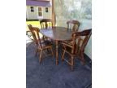 Dinning Table with 4 Chairs - 150.00