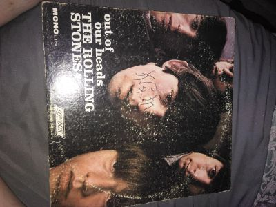 """Rolling Stones """"Out of Our Heads"""" Record"""
