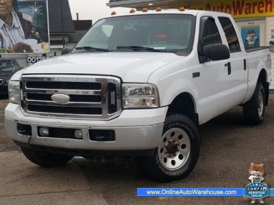 2006 Ford Super Duty F-250 4X4 CREW CAB DIESEL POWERSTROKE SHORT BED