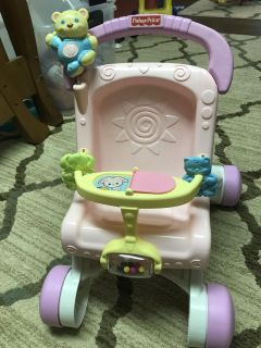 Fisher Price learn to walk stroller