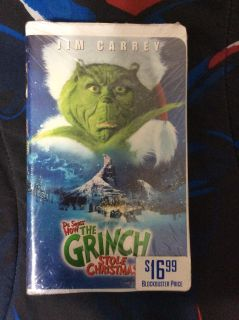 How the Grinch Stole Christmas VHS brand new