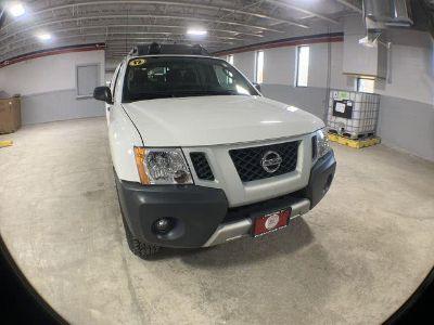 2012 Nissan Xterra X (White)