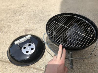 Brand New Micro Weber Grill
