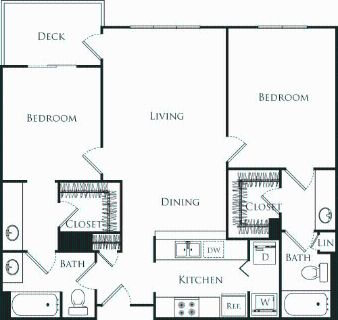2 bedroom in West Central