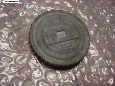 VW German Oil Cap