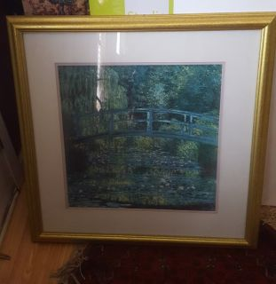 "Replica of Claude Monet ""The Waterlily Pond"""