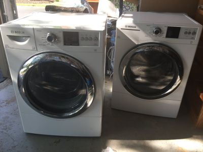 Bosch washer and dreyer